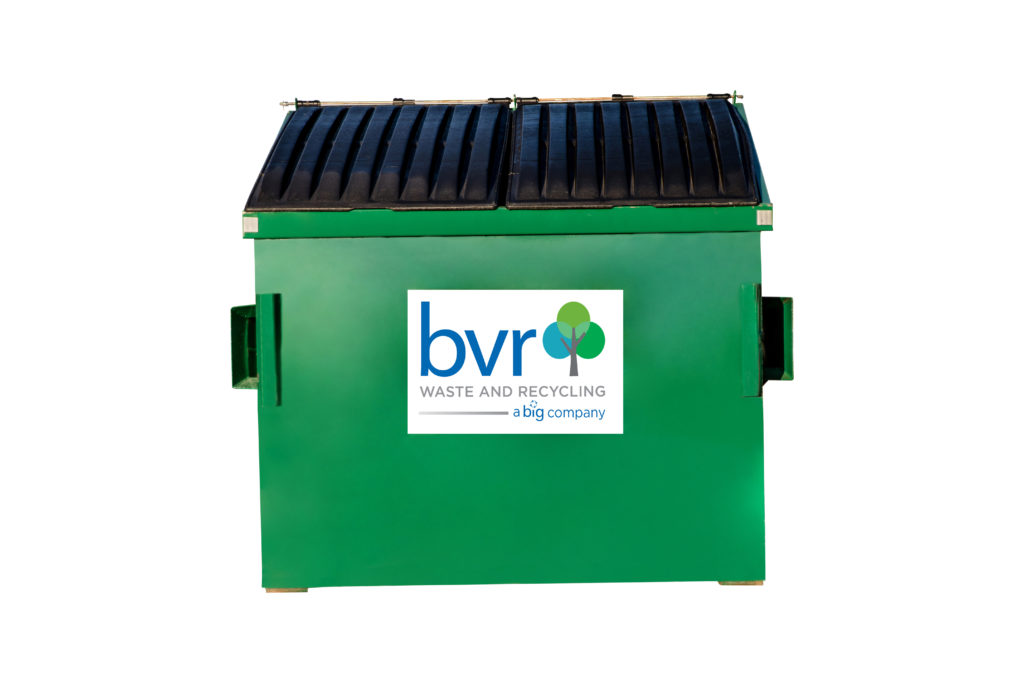 BVR Commercial dumpster isolated