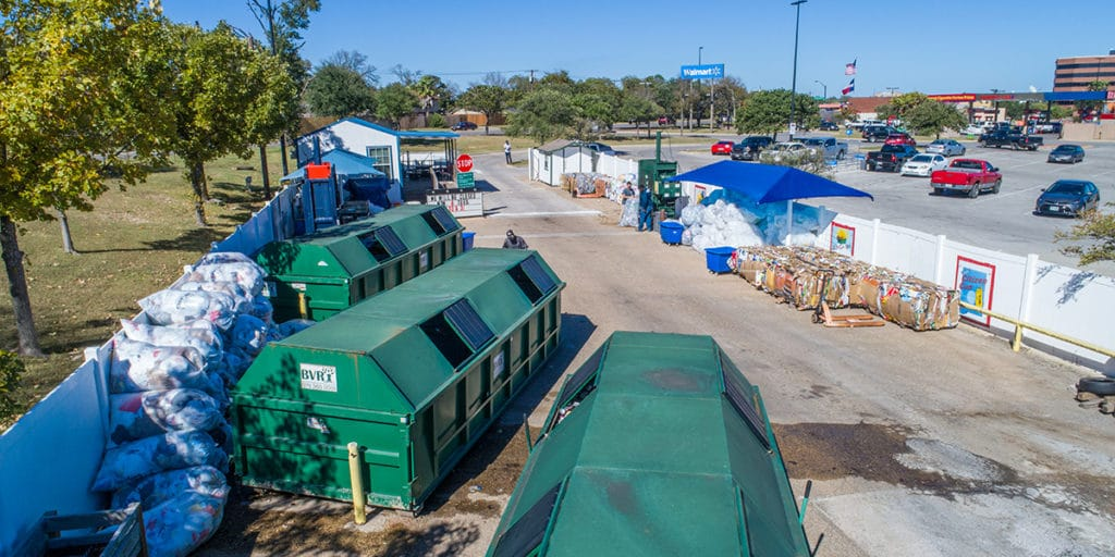 City of Bryan Drive-In Recycling-Center