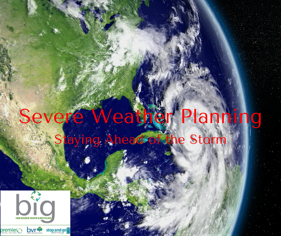 BIG helps with Severe Weather Planning
